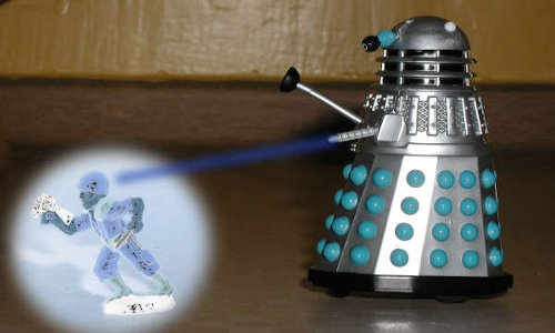 Mr. Dalek Goes for a Glide